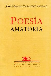 POESIA AMATORIA: portada