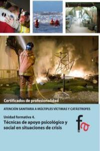 TÉCNICAS DE APOYO PSICOLÓGICO Y SOCIAL EN SITUACIONES DE CRI: portada