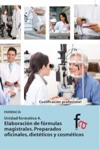 ELABORACIÓN DE FÓRMULAS MAGISTRALES. PREPARADOS OFICINALES, : portada