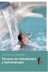 TÉCNICAS DE HIDROTERAPIA Y BALNEOTERAPIA: portada