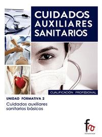 CUIDADOS AUXILIARES SANITARIOS BÁSICOS: portada