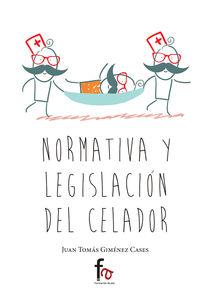 NORMATIVA Y LEGISLACIÓN DEL CELADOR: portada