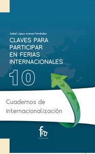 CLAVES PARA PARTICIPAREN FERIAS INTERNACIONALES: portada