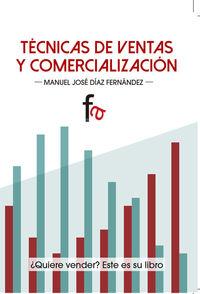 TÉCNICAS DE VENTAS Y COMERCIALIZACIÓN: portada