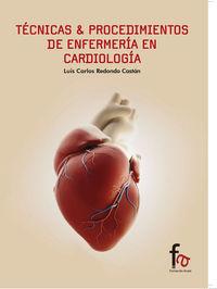 TÉCNICAS & PROCEDIMIENTOS DE ENFERMERÍA EN CARDIOLOGÍA: portada