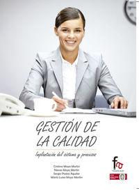 GESTIÓN DE LA CALIDAD: portada
