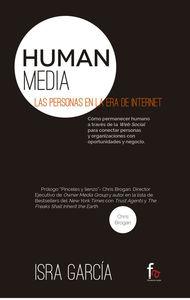HUMAN MEDIA.LAS PERSONAS EN LA ERA DE INTERNET: portada