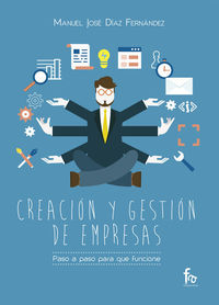 CREACIÓN Y GESTIÓN DE EMPRESAS.PASO A PASO PARA QUE FUNCIONE: portada