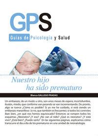 """""""NUESTRO HIJO HA SIDO PREMATURO"""": portada"""