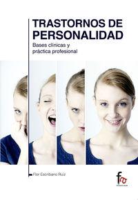 TRASTORNOS DE PERSONALIDAD.BASES CLÍNICAS Y PRÁCTICA PROFESI: portada