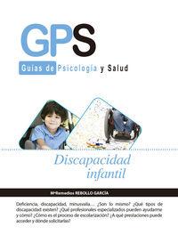 DISCAPACIDAD INFANTIL: portada