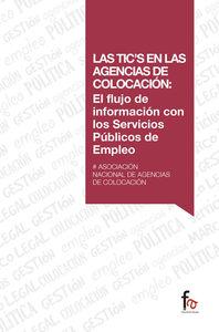 LAS TIC`S EN LAS AGENCIAS DE COLOCACIÓN: El flujo de informa: portada