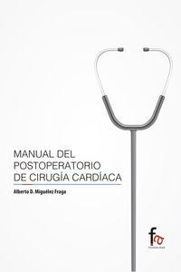 MANUAL DEL POSTOPERATORIO DE CIRUGÍA CARDÍACA: portada