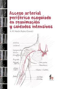 ACCESO ARTERIAL PERIFÉRICO ECOGUIADO EN REANIMACIÓN Y CUIDAD: portada
