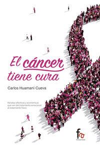 CANCER TIENE CURA,EL: portada