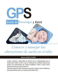 CONOCER Y MANEJAR LAS ALTERACIONES DE SUEÑO EN EL NIÑO: portada
