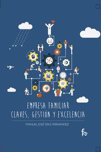 EMPRESA FAMILIAR.CLAVES, GESTIÓN Y EXCELENCIA: portada