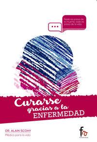 CURARSE GRACIAS A LA ENFERMEDAD: portada