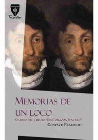MEMORIAS DE UN LOCO: portada