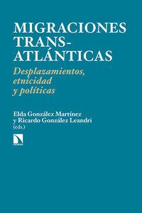 Migraciones transatlánticas: portada