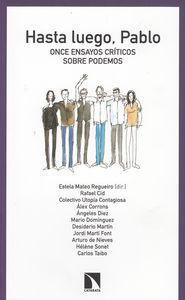 HASTA LUEGO PABLO: portada