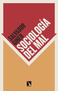 Sociolog�a del mal: portada