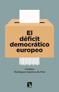 El déficit democrático europeo: portada