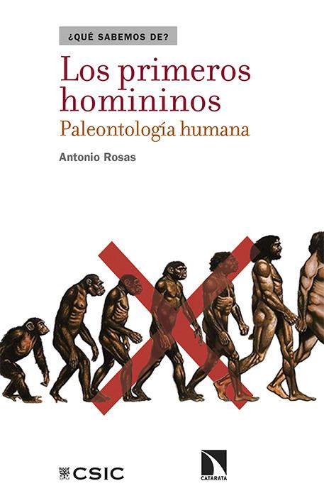 LOS PRIMEROS HOMININOS: portada