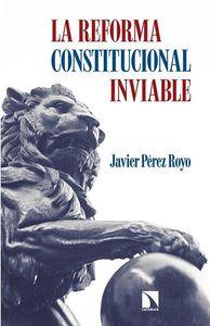 LA REFORMA CONSTITUCIONAL INVIABLE: portada