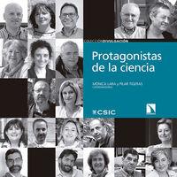 PROTAGONISTAS DE LA CIENCIA: portada