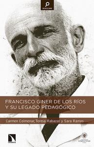 Francisco Giner de los Ríos y su legado pedagógico: portada