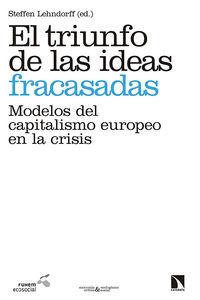 El triunfo de las ideas fracasadas: portada