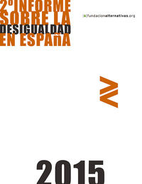 2ª Informe sobre la Desigualdad en España 2015: portada