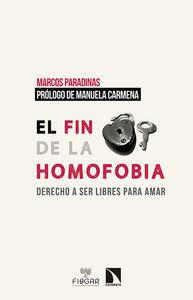 EL FIN DE LA HOMOFOBIA: portada