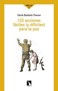 122 acciones fáciles (y difíciles) para la paz: portada