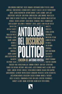 Antología del discurso político: portada