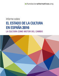 Informe sobre el estado de la Cultura en España 2015: portada