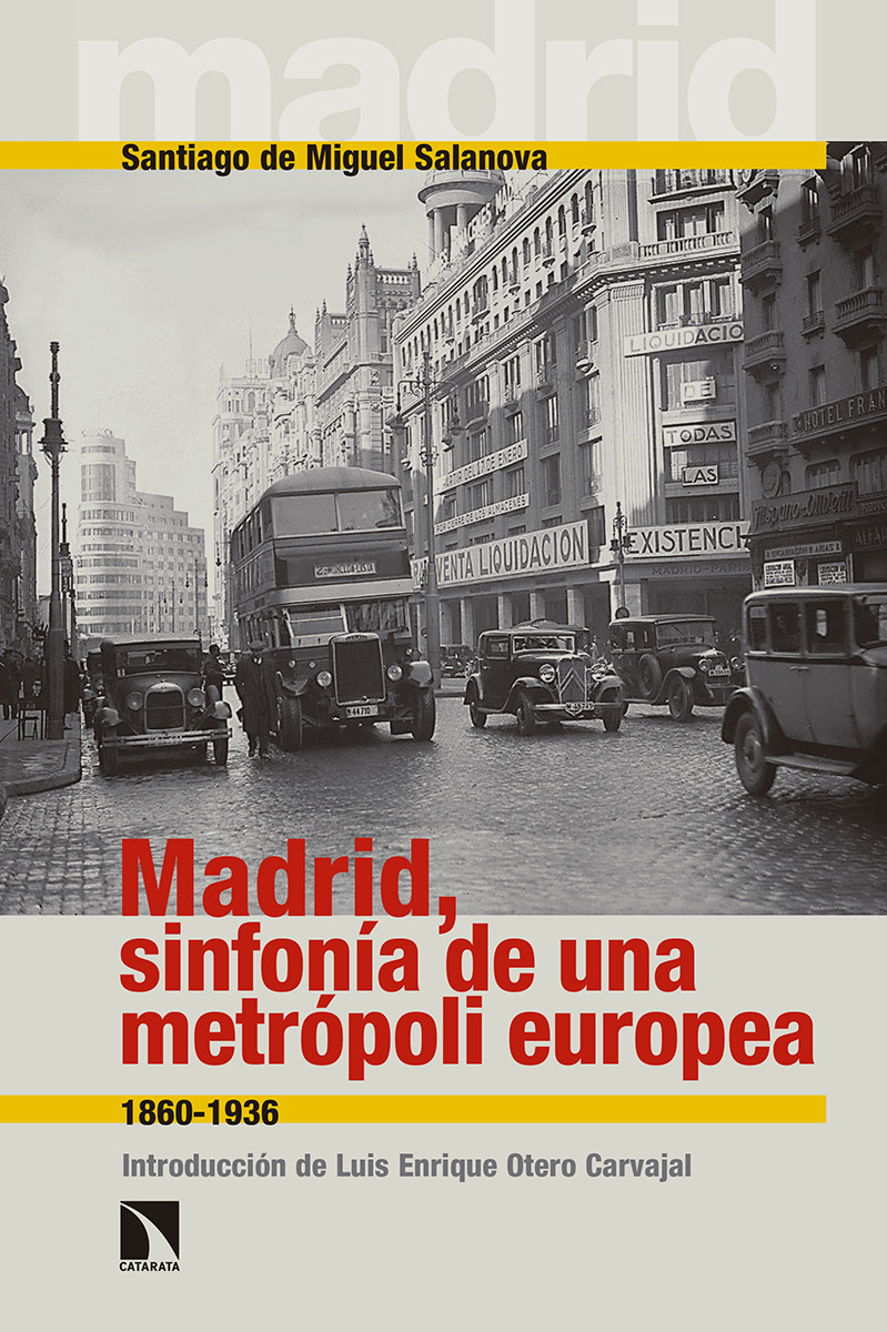 Madrid, sinfonía de una metrópoli europea: portada