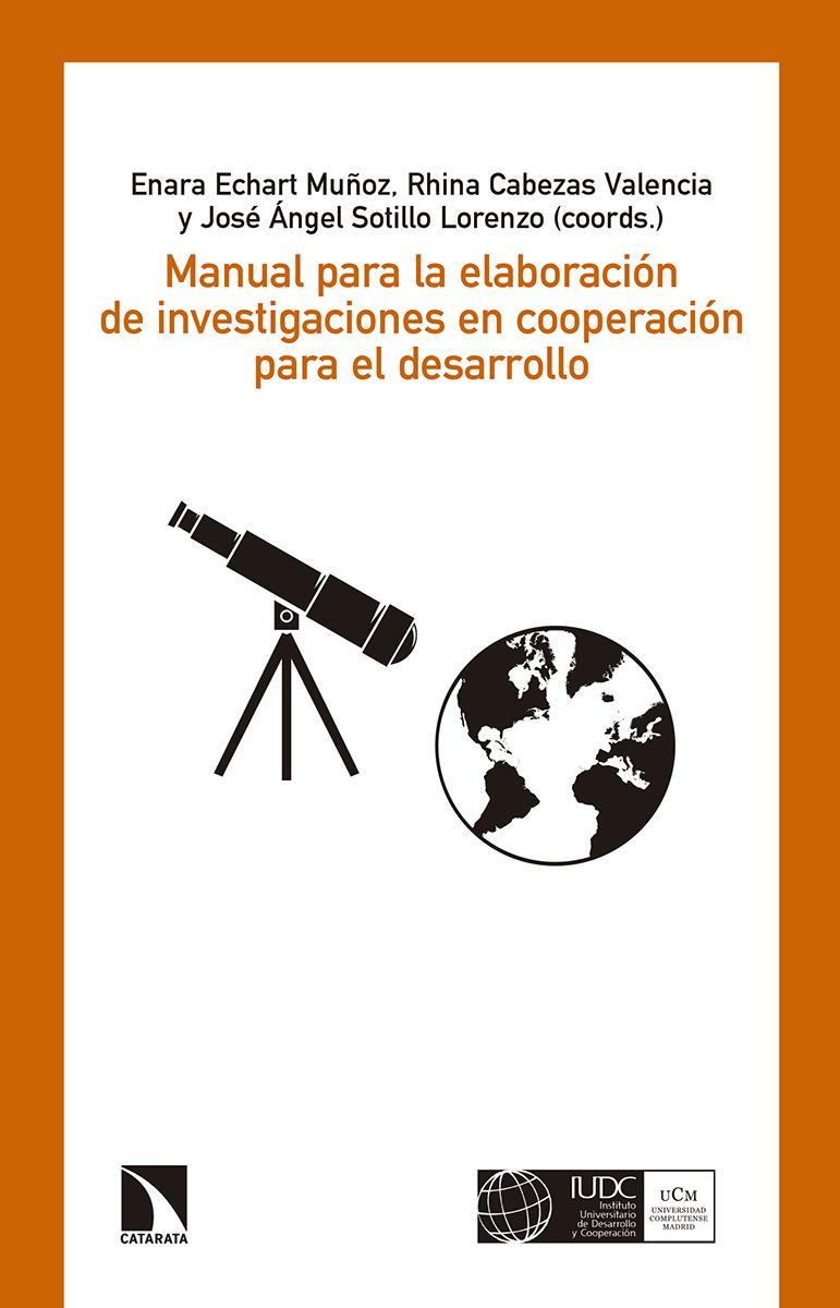 MANUAL PARA LA ELABORACIÓN DE INVESTIGACIONES EN COOPERACIÓN: portada