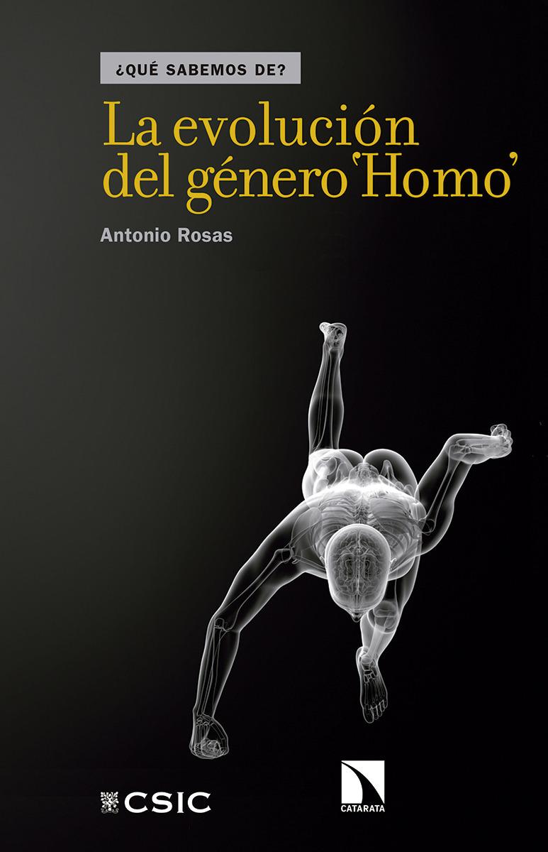 La evolución del género Homo: portada