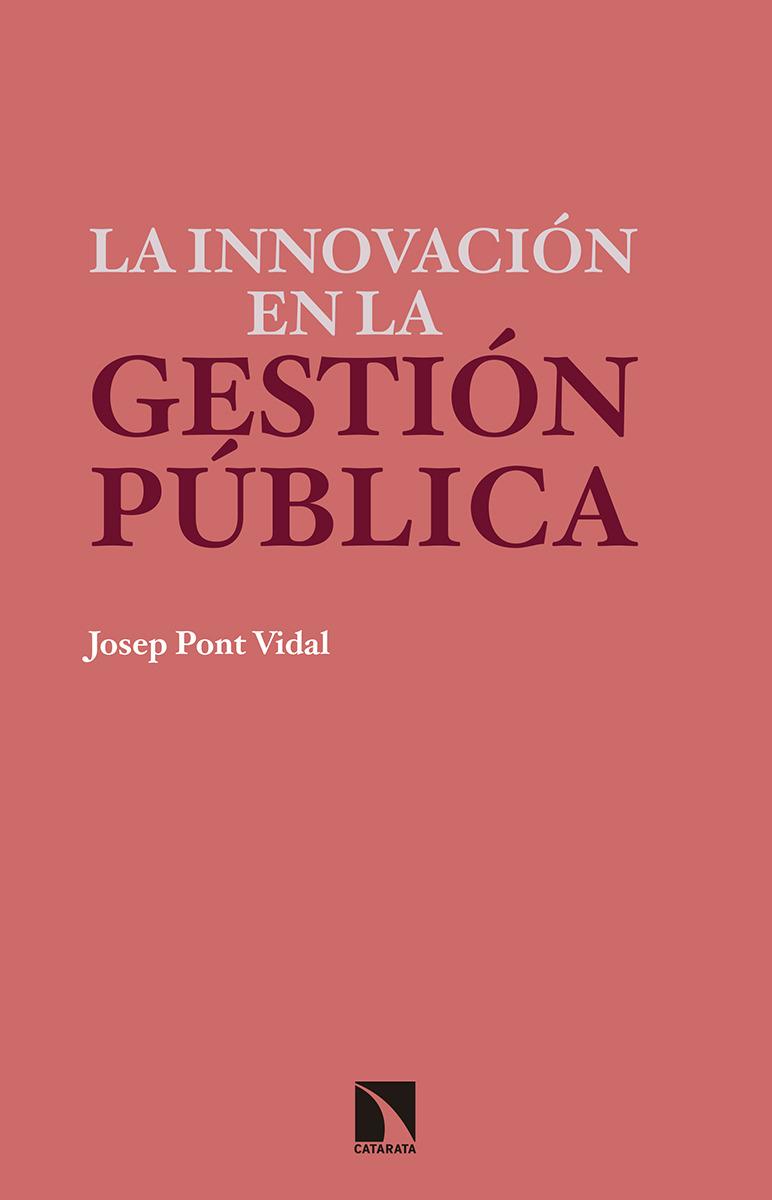 La innovación en la gestión pública: portada