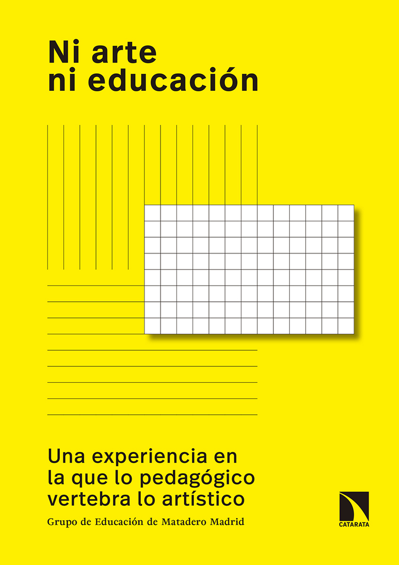 Ni arte ni educación: portada