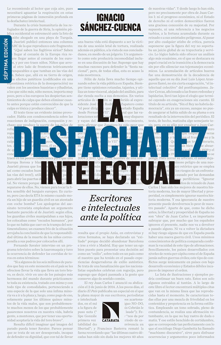 La desfachatez intelectual (7ª ed. ampliada): portada