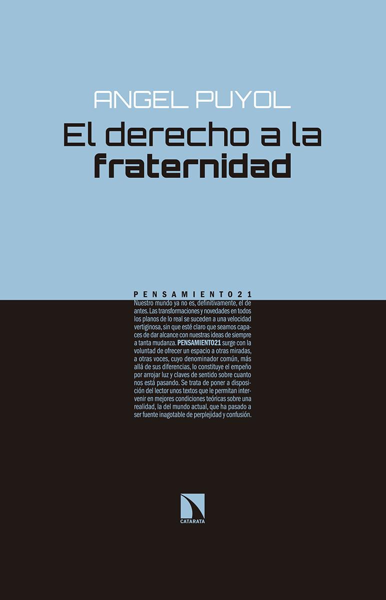 El derecho a la fraternidad: portada