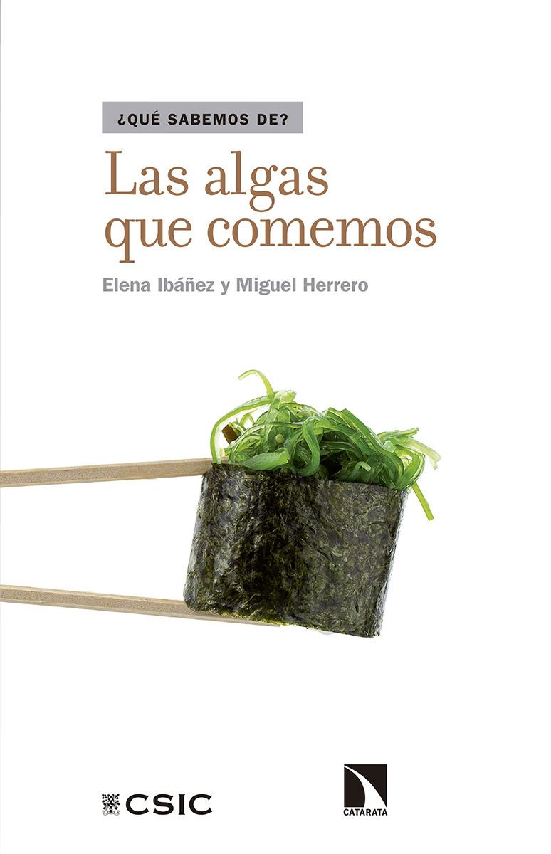 Las algas que comemos: portada