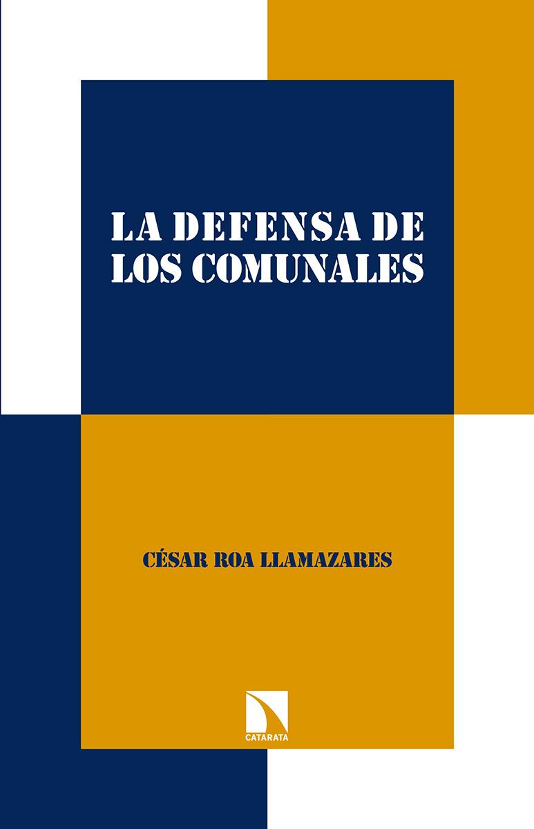 La defensa de los comunales: portada