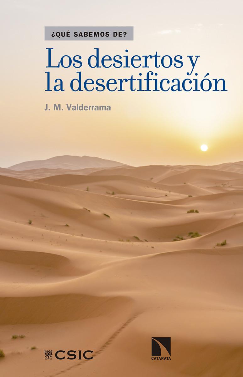 Los desiertos y la desertificación: portada