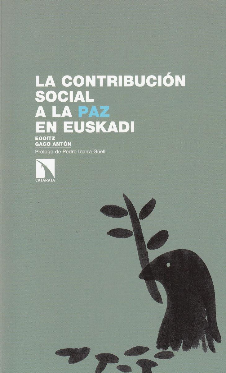 La contribución social a la paz en Euskadi: portada