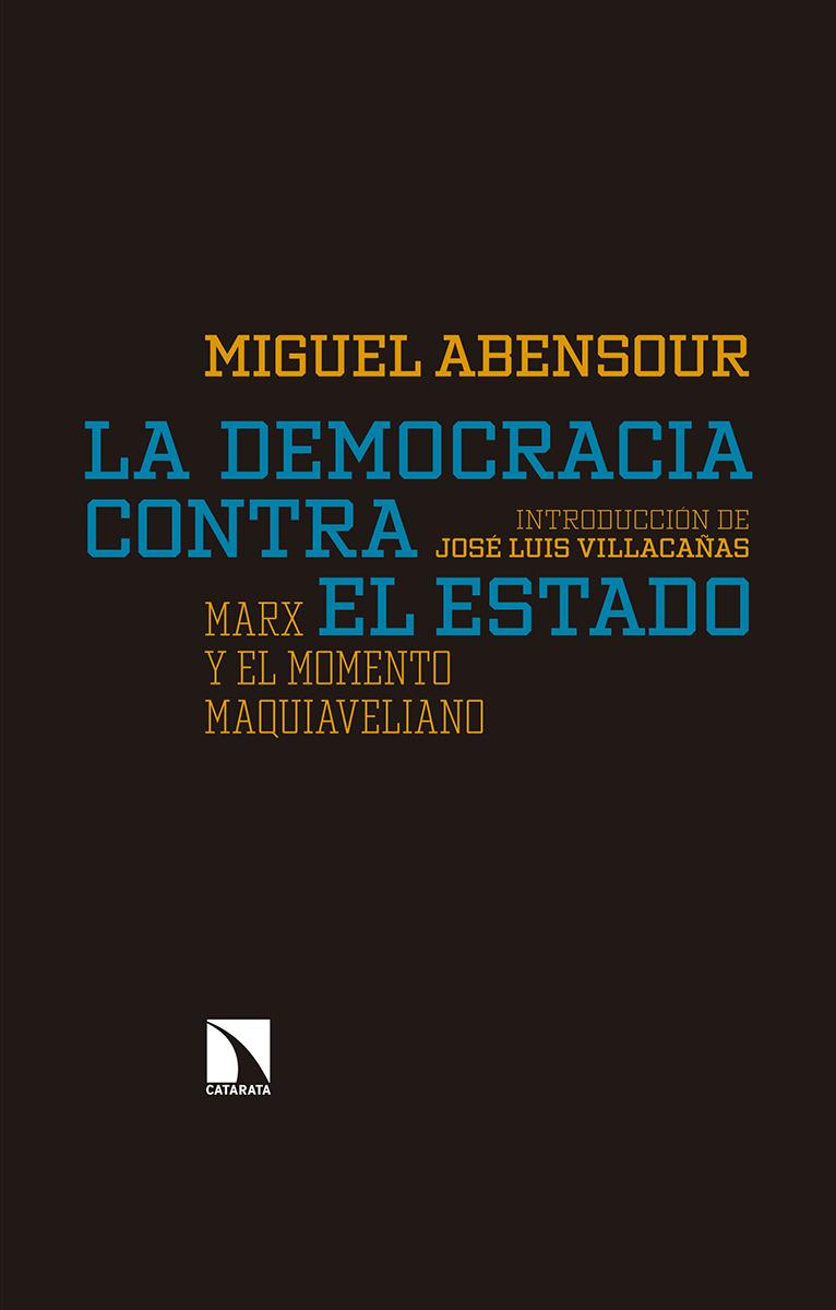 La democracia contra el Estado: portada