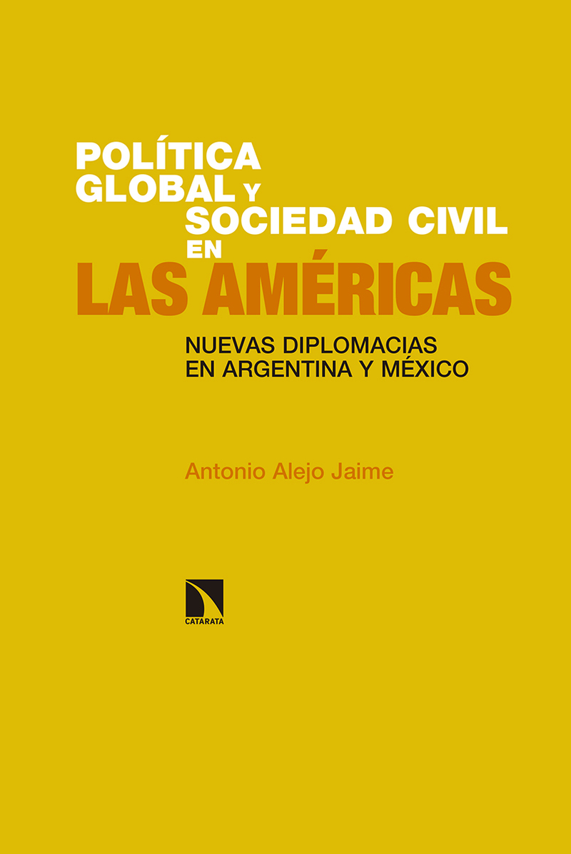 Política global y sociedad civil en las Américas.: portada